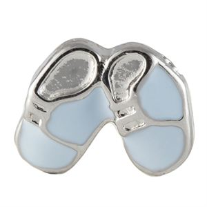 Picture of Blue Baby Shoes Charm