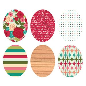 Picture of Bold Print Oval Locket Backdrops